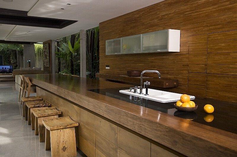 Kitchen - Ziva A Residence - Seminyak, Bali