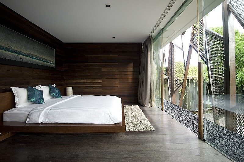 King Size Bed with View - Ziva A Residence - Seminyak, Bali