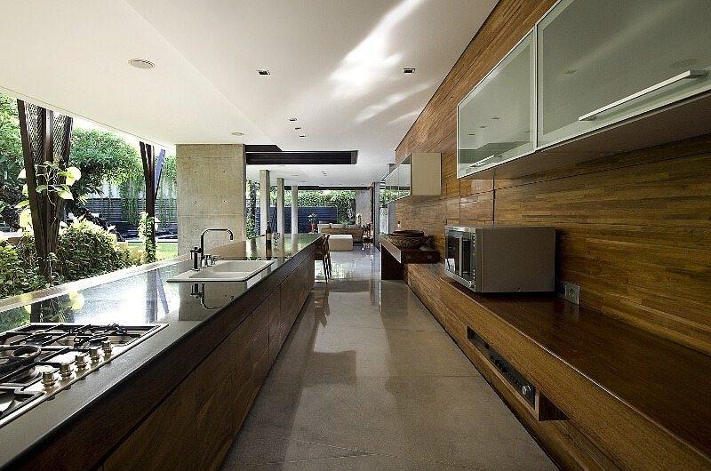 Kitchen Area - Ziva A Residence - Seminyak, Bali