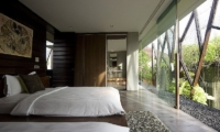 Bedroom with Twin Beds - Ziva A Residence - Seminyak, Bali