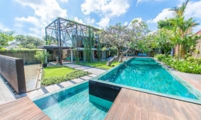 Pool Side - Ziva A Residence - Seminyak, Bali