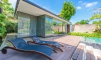 Pool Side Loungers - Ziva A Residence - Seminyak, Bali