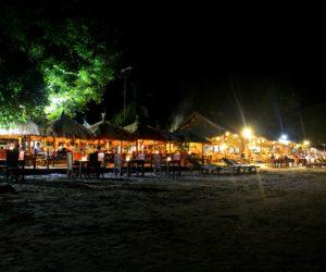 Beachlife At Night Gili Air