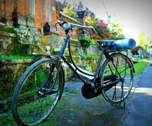 Biking Ubud