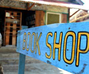 Book Shop Sign Gili Air