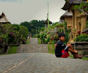 Boy On The Street Penglipuran