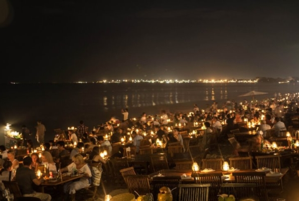 Dining At Jimbaran Bay