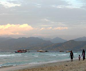 Evening Walk Gili Trawangan
