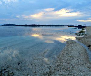 Gili Air Beach Before Sunset