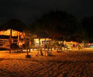 Gili Meno Beach At Night