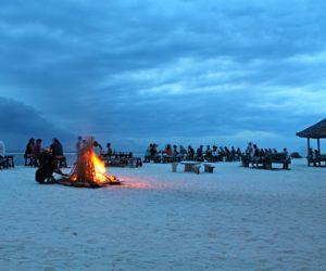 Gili Trawangan Evening On The Beach