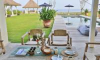 Seating Area - Villa Putih - Nusa Lembongan, Bali