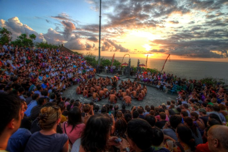 Kecak Fire Dance In Uluwatu