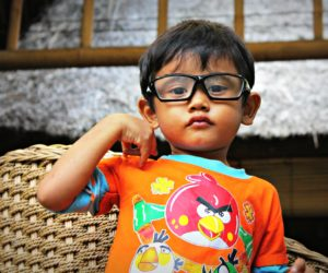 Kid With Glasses Ubud