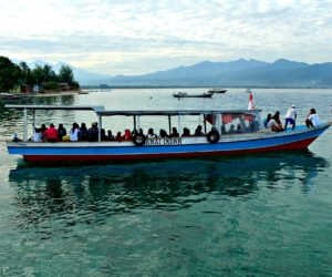 Local Boat Gili Air