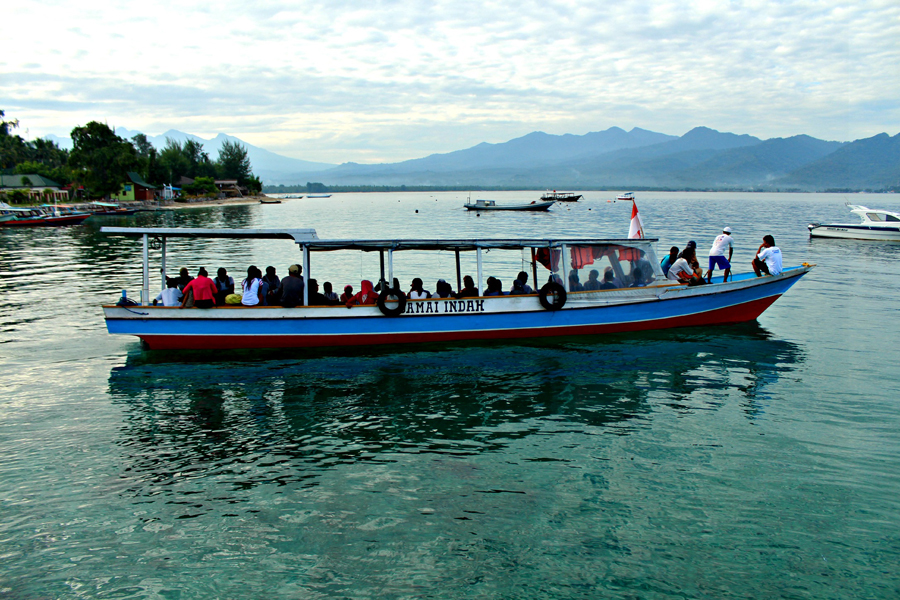 Local Boat Gili Air