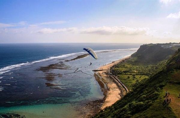 Paragliding At The Bukit