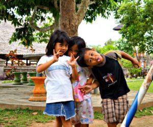 Penglipuran Kids Posing