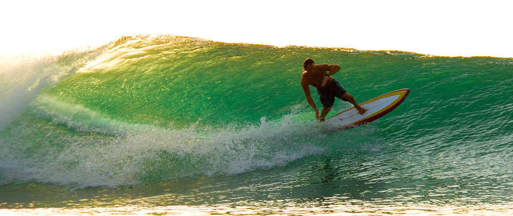 Bingin Big Waves At Sunset: Bali Surf Photo Gallery