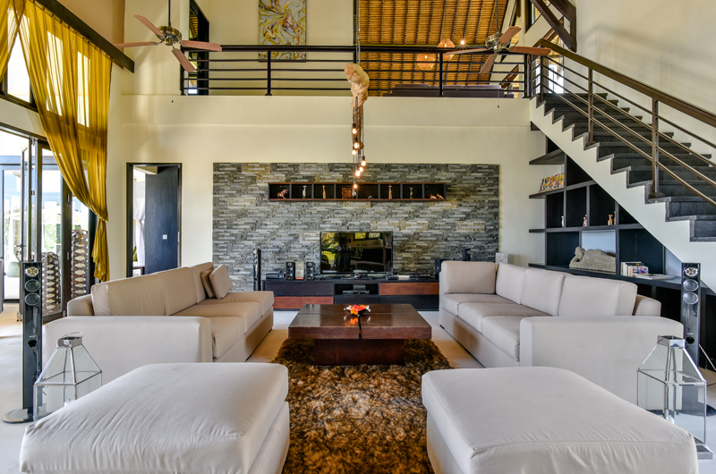 Living Area with Up Stairs - Bali Il Mare - Pemuteran, Bali
