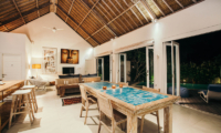 Living and Dining Area - Escape - Nusa Lembongan, Bali