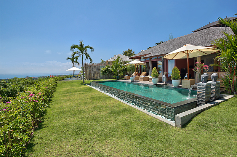 Gardens and Pool - Hidden Hills Villas Villa Grande - Uluwatu, Bali