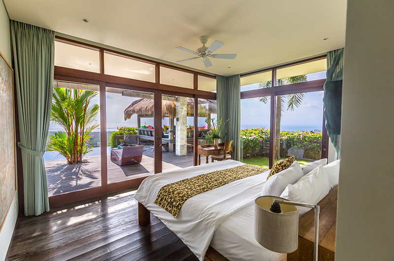 Bedroom with Pool View - Hidden Hills Villas Villa Raja - Uluwatu, Bali
