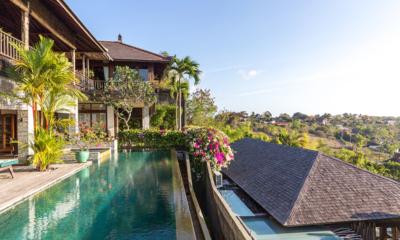Gardens and Pool - Hidden Hills Villas Villa Raja - Uluwatu, Bali