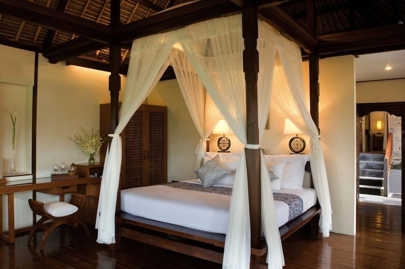 Bedroom with Wooden Floor - Kamandalu Ubud - Ubud, Bali