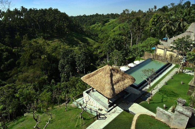 Gardens and Pool - Kamandalu Ubud - Ubud, Bali