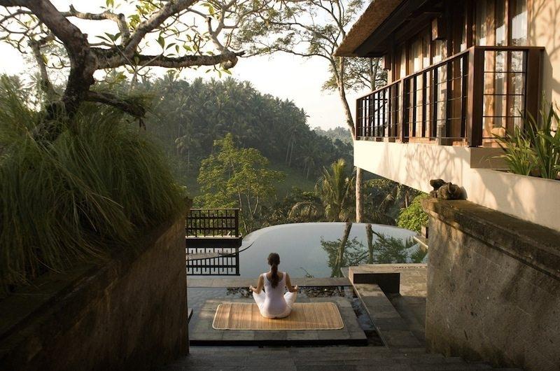 Pool Side - Kamandalu Ubud - Ubud, Bali