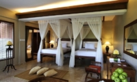 Twin Bedroom with Study Table - Kamandalu Ubud - Ubud, Bali