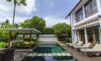 Gardens and Pool - Mary's Beach Villa - Canggu, Bali