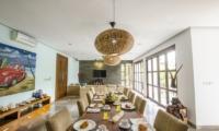 Dining Area - Mary's Beach Villa - Canggu, Bali