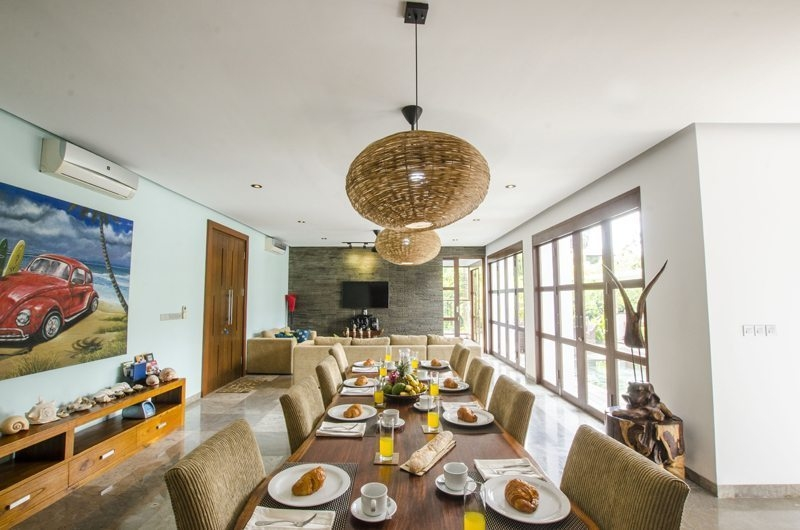 Dining Area - Mary's Beach Villa - Canggu, Bali