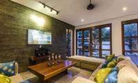 Lounge Area with TV - Mary's Beach Villa - Canggu, Bali