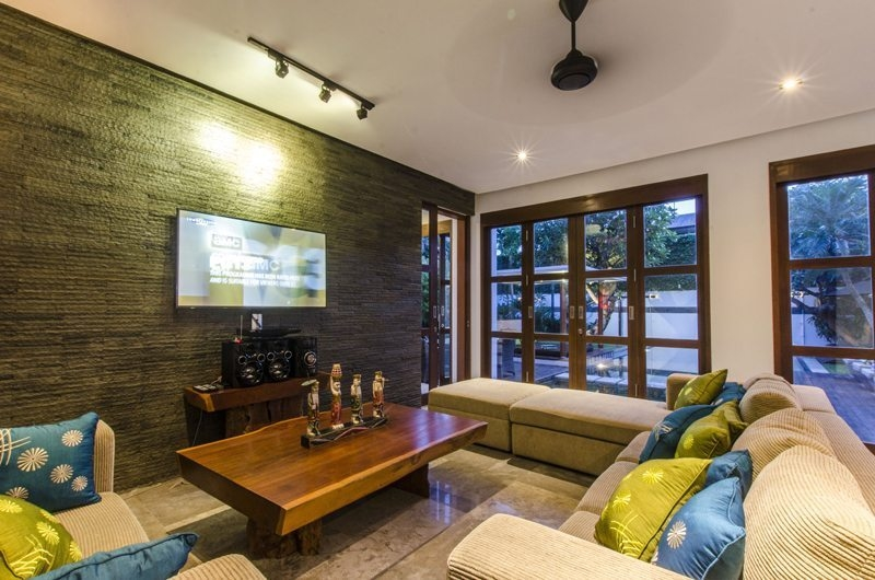 Lounge Area with TV - Mary's Beach Villa - Canggu, Bali