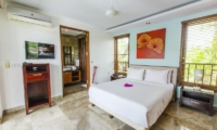 Bedroom with Table Lamps - Mary's Beach Villa - Canggu, Bali