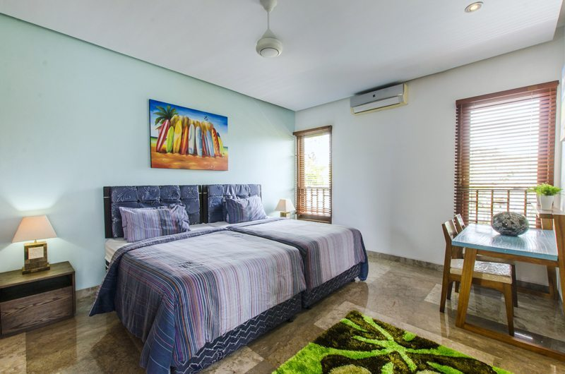 Twin Bedroom - Mary's Beach Villa - Canggu, Bali