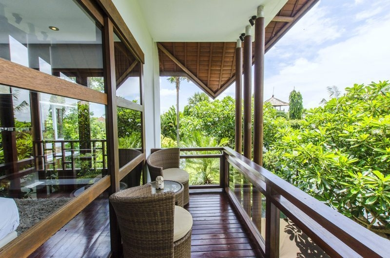 Balcony View - Mary's Beach Villa - Canggu, Bali