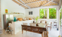Kitchen and Dining Area - Santai Beach House - Canggu, Bali