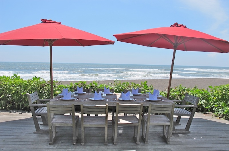 Lunch Table with Sea View - Sound Of The Sea - Pererenan, Bali