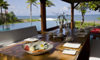 Dining Area with Pool View - Sound Of The Sea - Pererenan, Bali