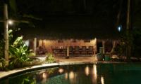 Pool at Night - The Island Houses - Africa House - Seminyak, Bali