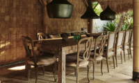 Open Plan Dining Area with Garden View - The Island Houses - Africa House - Seminyak, Bali