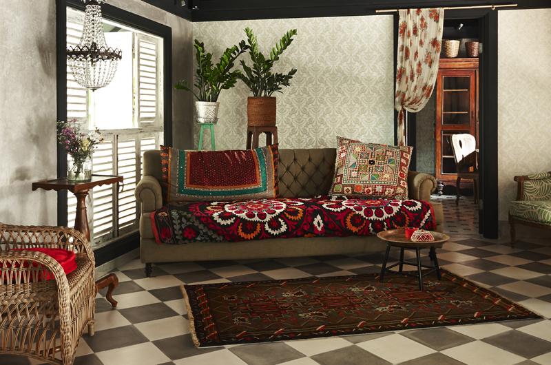 Indoor Lounge - The Island Houses- Garden House - Seminyak, Bali
