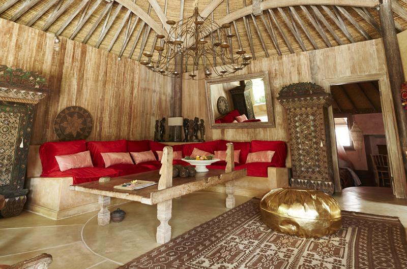 Living Area - The Island Houses - Round House - Seminyak, Bali