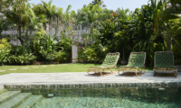 Pool Side Loungers - The Island Houses - Round House - Seminyak, Bali