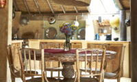 Kitchen and Dining Area - The Island Houses - Round House - Seminyak, Bali