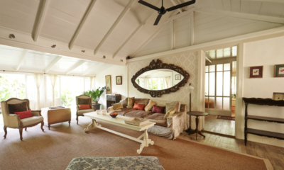 Indoor Living Area - The Island Houses - White House- Seminyak, Bali